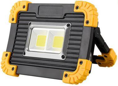 Lampa/lanterna far cu arie de LED-uri, 20W, portabila