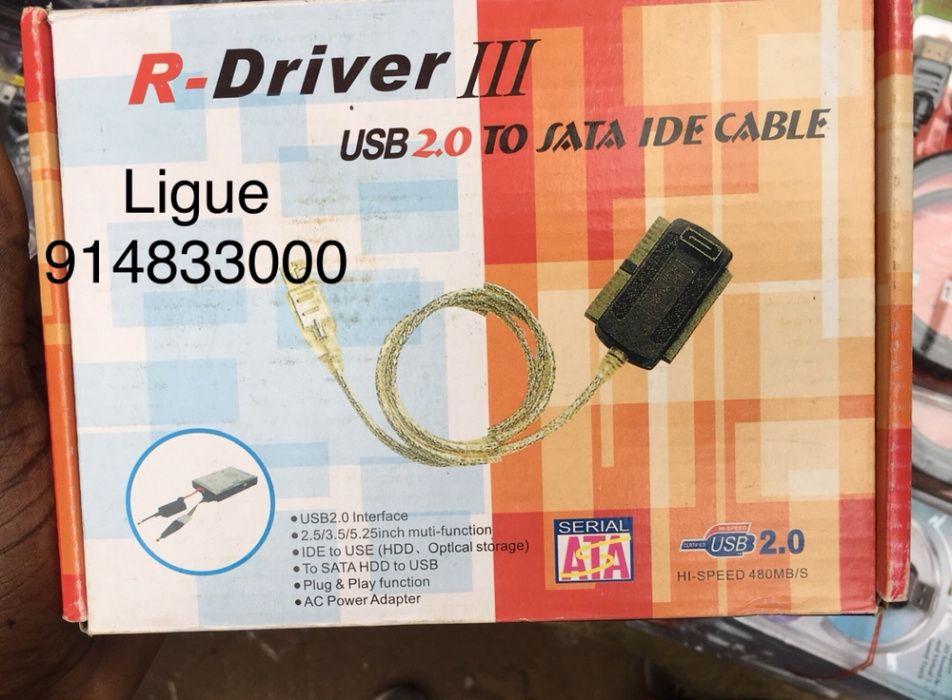 Adaptador R-Driver III USB 2.0 para Sata ou IDE