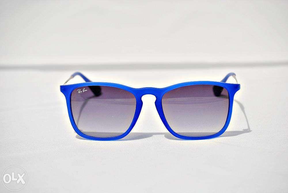 Ochelari de soare Ray Ban RB4187 899/8G Chris Albastri
