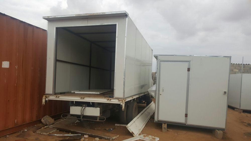 Montagem de carrinhas frigorífico