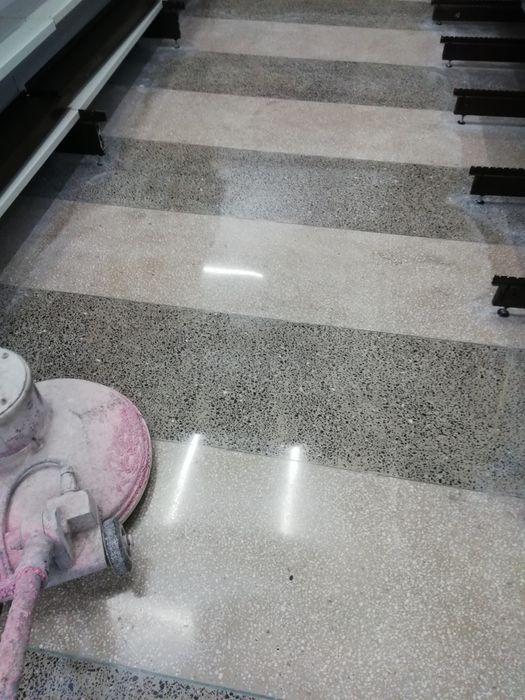 Șlefuit și lustruit marmura Mozaic granit