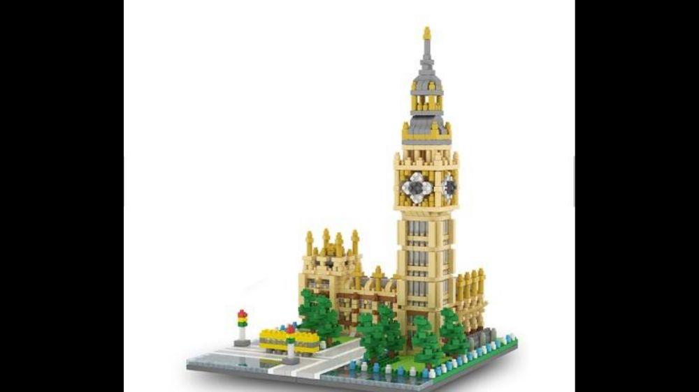 """Jucarie tip Lego """"Big Ben""""1800 de piese"""