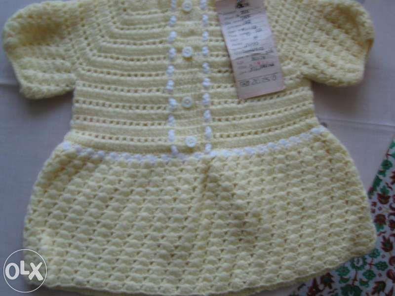 Рокличка плетена - за бебе