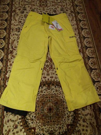 Новые штаны BURTON XXL (лайм) мужские для сноуборда или лыж.