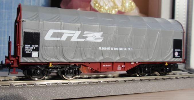 Vagon marfa CFL scara H0