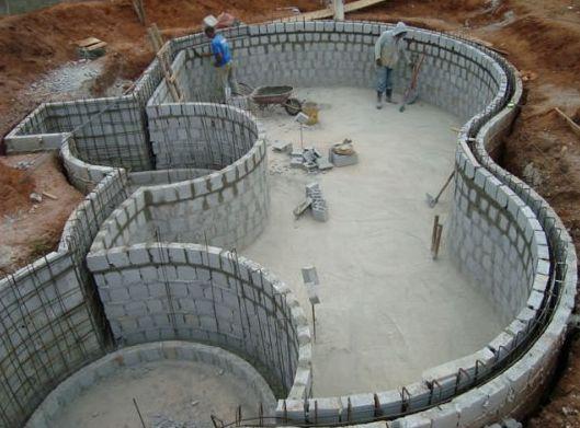 Manutenção e Construção Piscinas