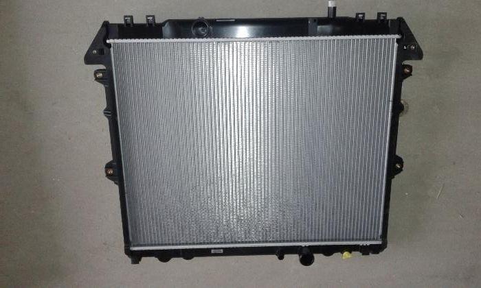 Radiator toyota hilux 2005-2015