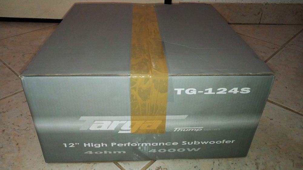 "Targa 12"" High Performance Subwoofer TG-124s 4000w"