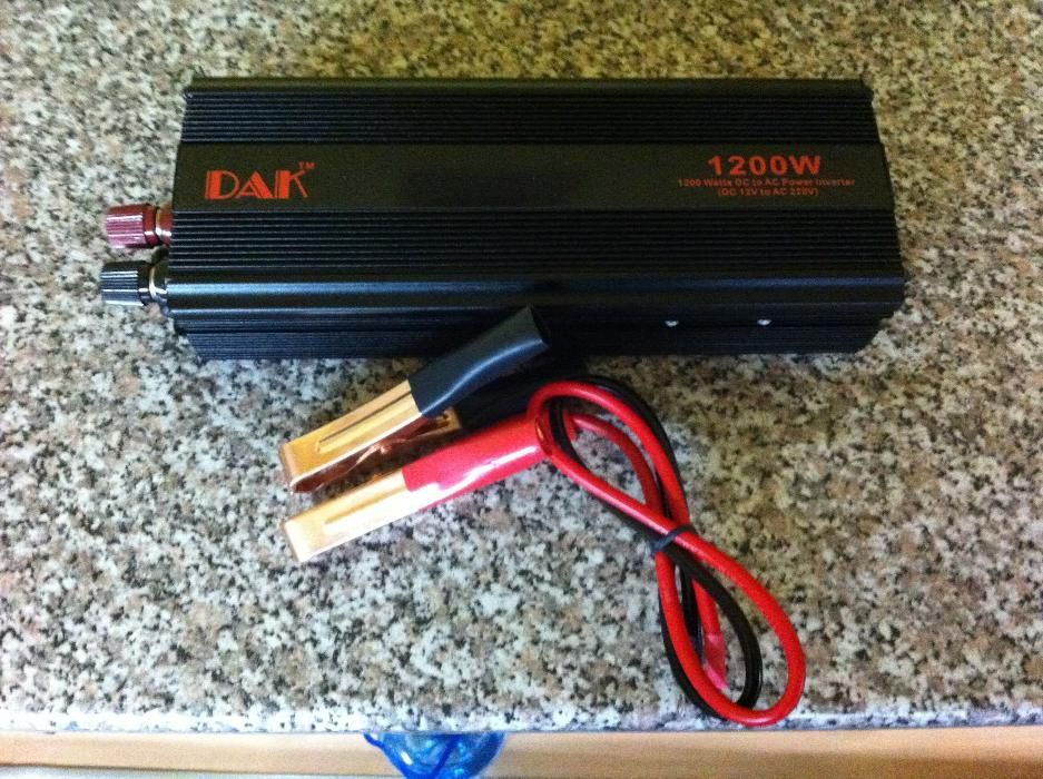 Convertor 12-24 v to 220v putere 1200w