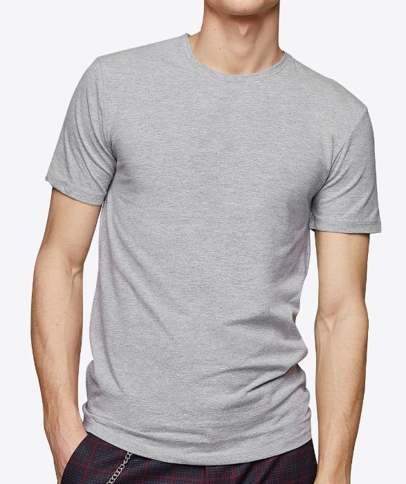 T shirt base cinza