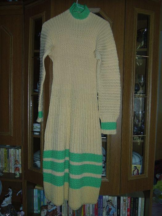 rochita tricotata hand -made
