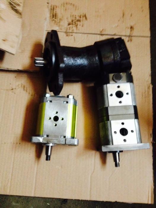 Vand pompe hidraulice, PRD 2 ,combina dubla