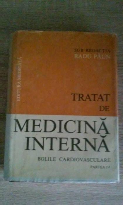 Tratat de medicina interna vol. IV de Radu Paun