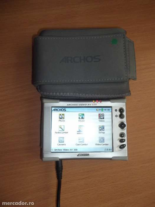 Archos jukebox av320 (20 gb) digital media player