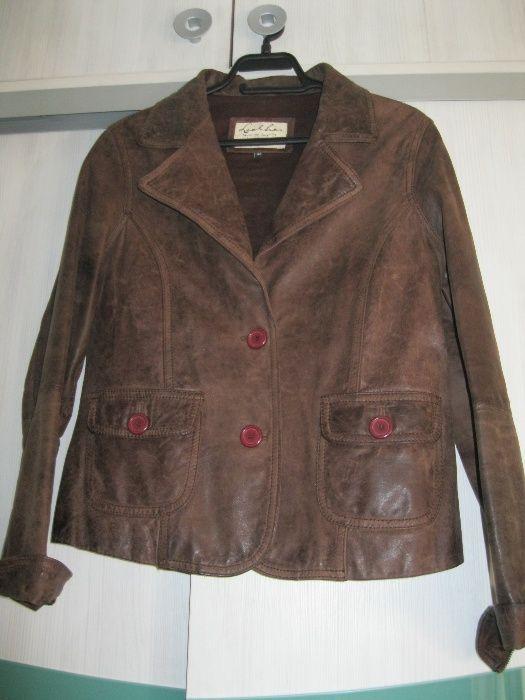 Кожено сако/яке, вталено – размер 42
