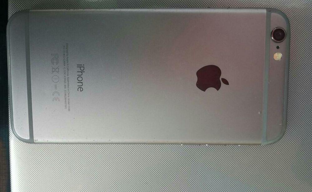 Iphone 6 16gb com umas rachas de leve