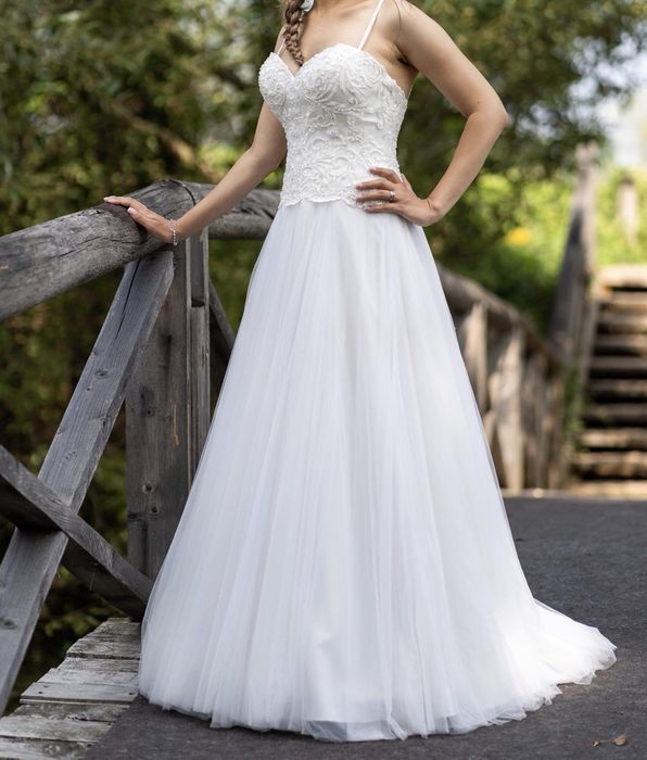 Rochie mireasa Demetrios model 2018