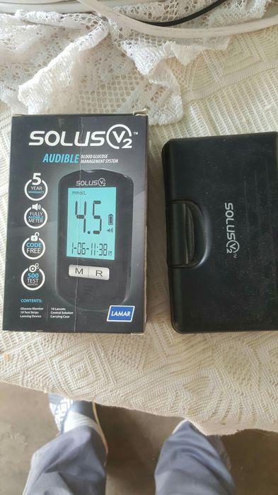 """Maquina professional """"Solus"""" para medir asucar no sangue, automatica"""