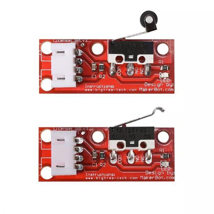 Mechanical Endstop,buton,stop,end,home,cnc,Push Button Switch,3D,print
