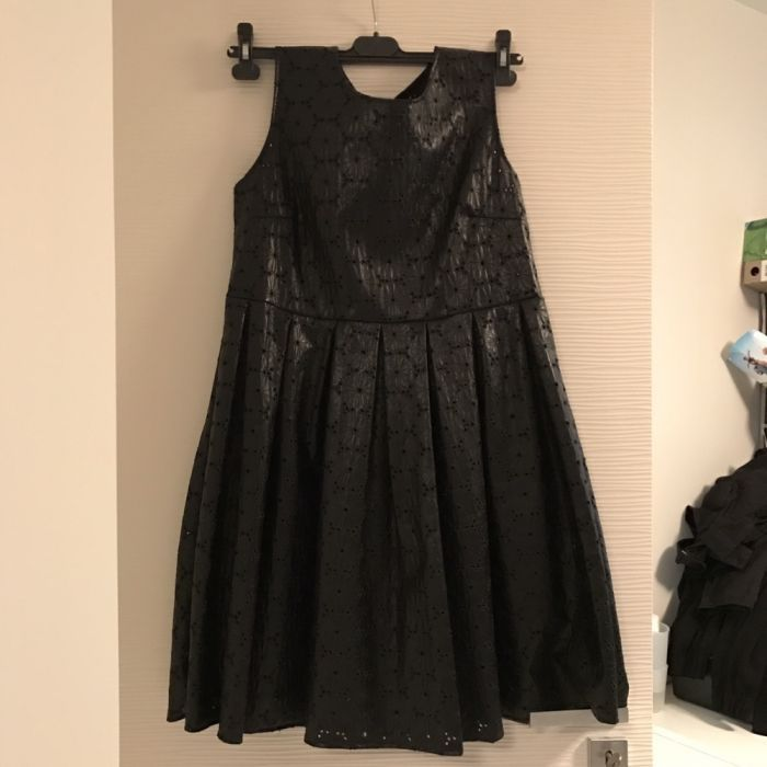 Дамска рокля еко кожа Pinki fashion