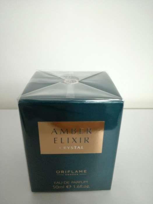Oriflame-Apa de parfum Amber Elixir Crystal 50 ml