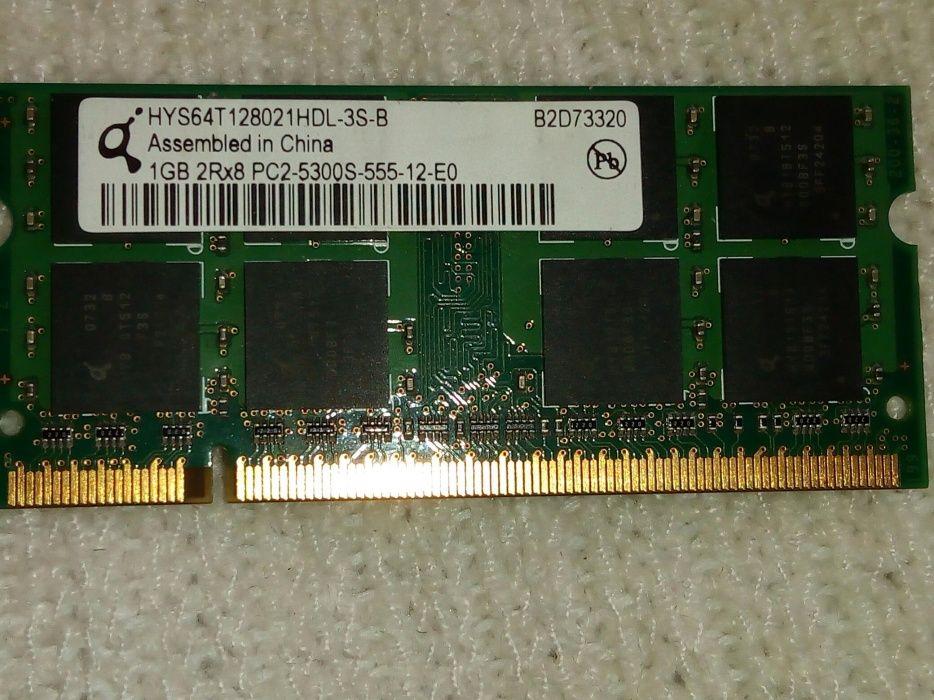 Memorie RAM laptop DDR2 1Gb
