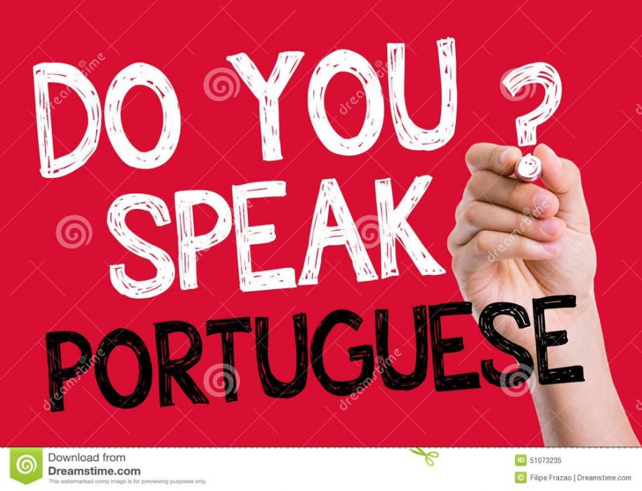 Portuguese lessons for foreigners