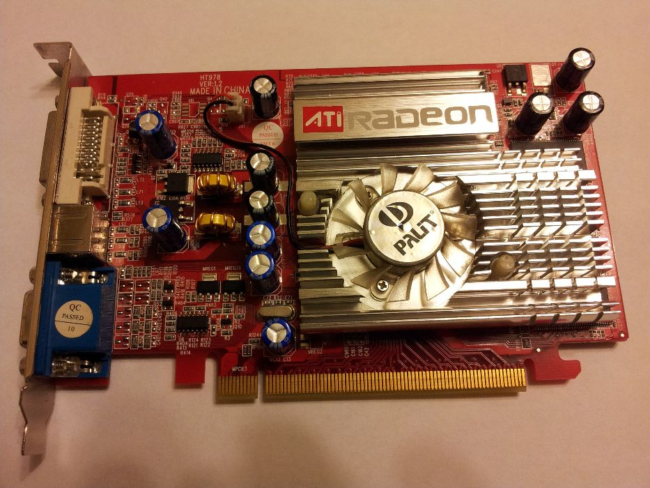 Placa VIDEO PCI - E 256 MB model X1050 TD21 HTA 97 ATI Radeon L72