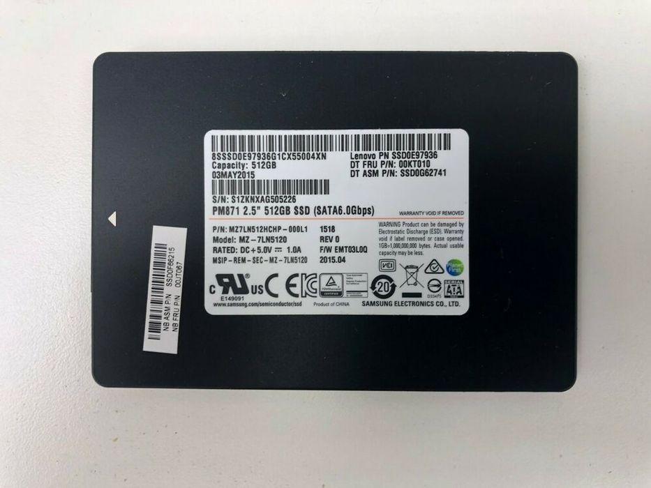 SSD 512GB (celado)