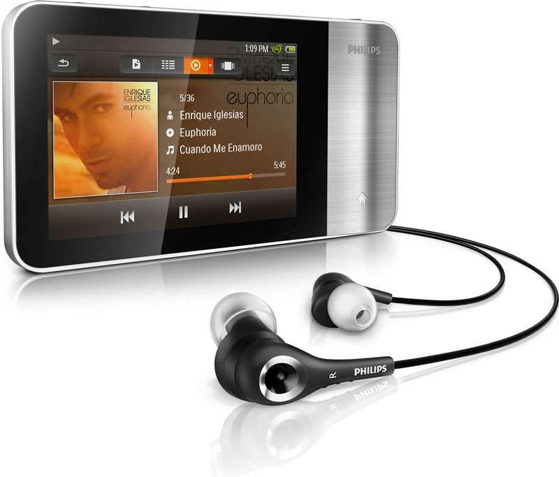 Player premium mp4 Philips GoGear Muse
