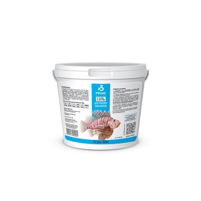 """Соль PRIME для морских аквариумов 10,5кг в """"Живом Уголке"""" в Таугуле"""