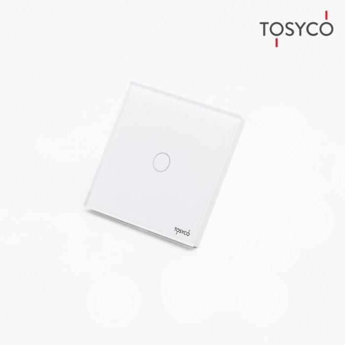 Tosyco.ro Intrerupator simplu wireless cu touch din sticla