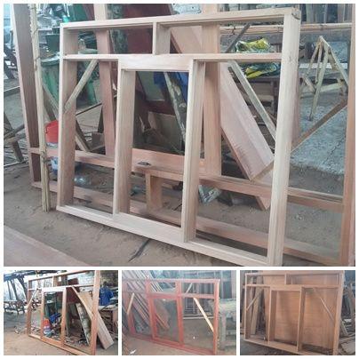 6- Carpentaria de qualidade pra sua casa, portas, aros, janela