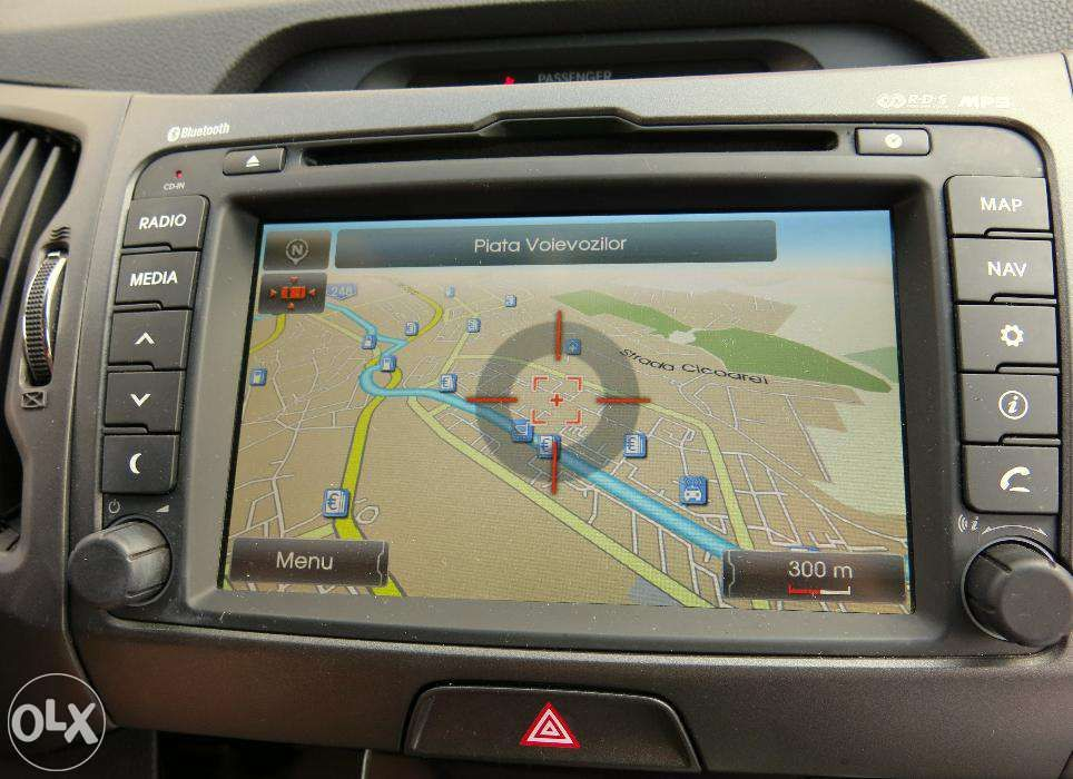Harta GPS HYUNDAI ix35 Santa Fe ix20 i30 i40 Europa 2018 Romania Full