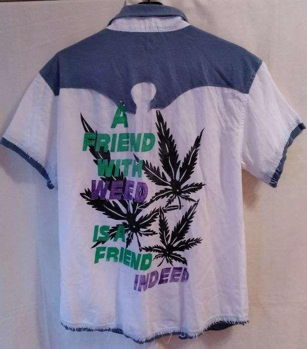 Camasa deosebita 18+ Marijuana