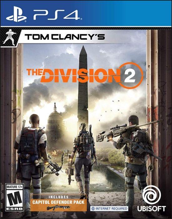 Tom Clancy's The Division 2 - PlayStation 4 (ps4) novos selados
