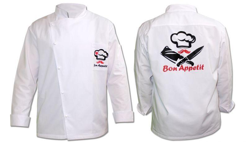 Куртка за готвач с принт