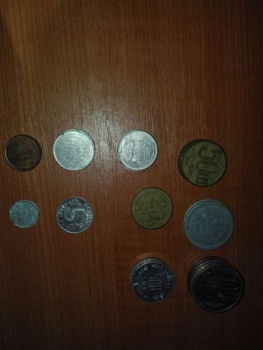Lot monezi vechi (10 buc )