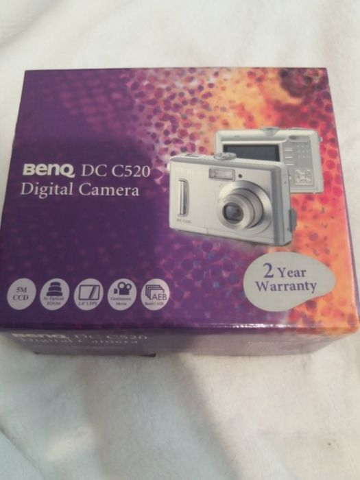 Camera digitala BENQ DC C520