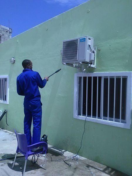 Montagem, reparação e manutenção de ar condicionado