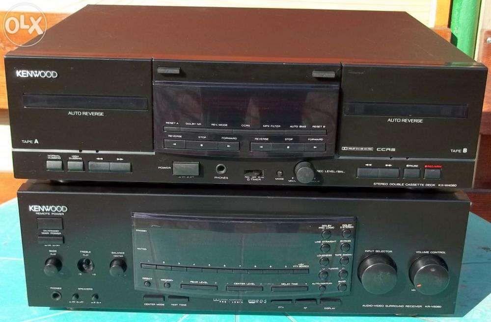 Amplificator Kenwood KR-V5080 si deck KR-W4080