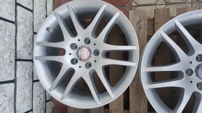 Jante Mercedes SLK 7.5x17 et 36 5x112 OEM Oradea - imagine 3