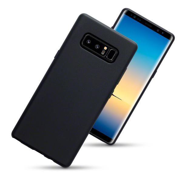 Husa Samsung Galaxy Note 8, Elegance Luxury slim antisoc Black