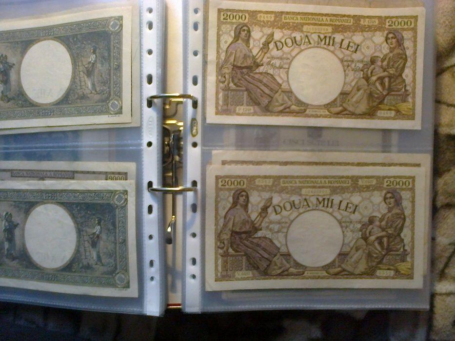 folii bancnote sau carti postale
