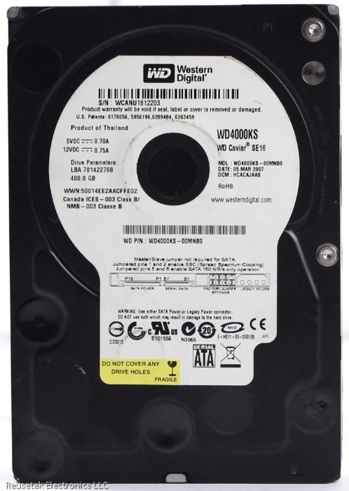 HDD Western Digital Caviar Black 400GB WD4000KS
