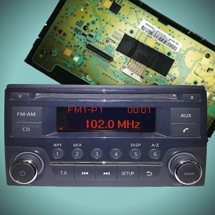 LCD-дисплеи за радио Nisan Quashqai,Pickup Navara,Nisan Juke 2007-2011