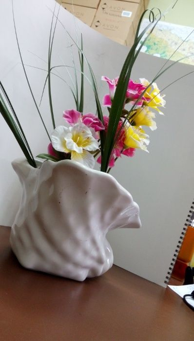 Ваза или декоративна купа с формата на раковина гр. София - image 9
