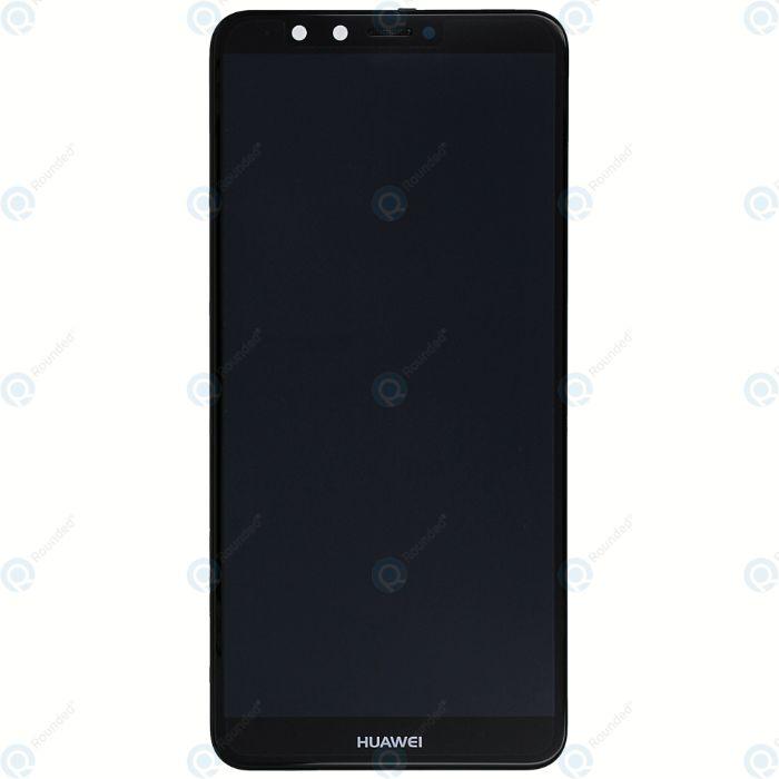 Оригинален Дисплей за Huawei Y9 2018 черен и бял