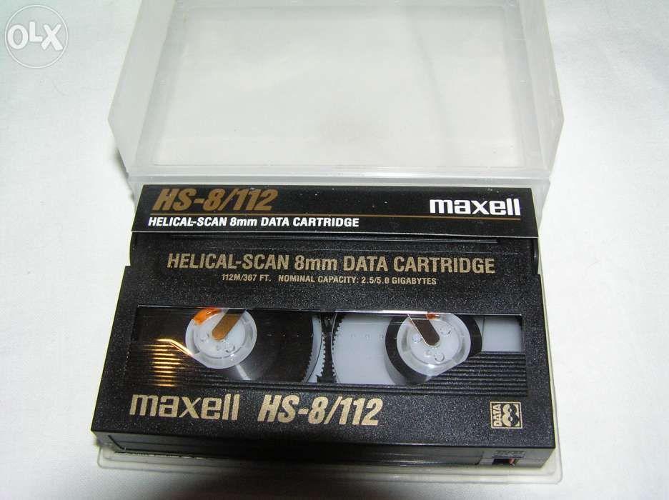 caseta Maxell 8mm Data Cartrige