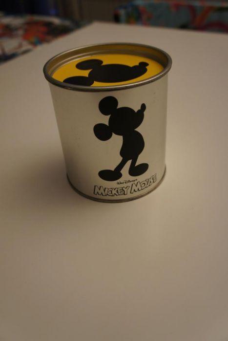 Doza depozitare inox 18/10 originala Leonardo Mickey Mouse
